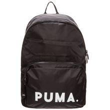 PUMA Rucksack schwarz / weiß