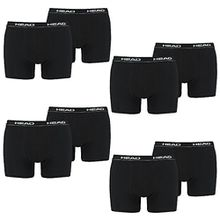 HEAD Men Boxershort 841001001-200 Basic Boxer 8er Pack black,S