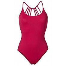 HEINE Damen Badeanzug Schwimmer mit Bustier schönen Rücken Hot Swimsuit Baywatch (36 C Cup)