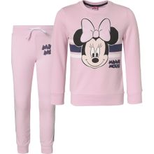 DISNEY Sweatshirt + Jogginghose Set 'Minnie Mouse' mischfarben / rosa