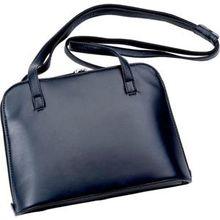 Hans Kniebes HK-Style Handtaschen & Rucksäcke Business-Handtasche, Nappa-Vollrindleder, 335 x 235 x 90 mm schwarz 1 Stk.