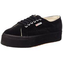 Superga Damen 2790 Velvetw Sneaker, Schwarz (Black S999), 40 EU (6.5 UK)