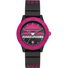 Marc Jacobs Uhr 'Mj1652' dunkelpink / schwarz