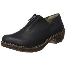 El Naturalista Damen Ng52 Soft Grain Yggdrasil Mokassin Boots, Schwarz (Black), 40 EU