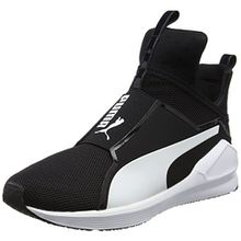 Puma Damen Fierce Core Sneakers, Schwarz Black White 08, 39 EU