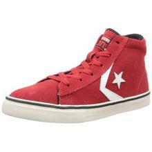 Converse Pro Lea Vul Mid 290100-31-4, Unisex - Kinder Sneaker, Rot (ROUGE), EU 32