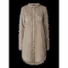 Hemdblusenkleid aus Lyocell Modell 'Silla'