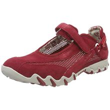 Allrounder by Mephisto NIRO C.SUEDE 48/OPEN MESH 48 Damen Outdoor Fitnessschuhe, Rot (RED/RED), 40 EU (6.5 Damen UK)