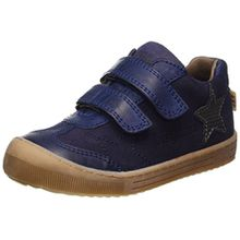 Bisgaard Unisex-Kinder Klettschuhe Sneaker, Blau (606 Blue), 34 EU