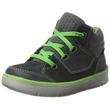 Superfit Jungen Bart Hohe Sneaker, Grau (Charcoal), 25 EU