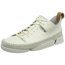 Clarks Originals Trigenic Flex, Damen Sneakers, Weiß (Weiß Nubuck), 40 EU (6.5 Damen UK)