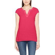 comma Damen T-Shirt 85899320443, Rosa (Pink 4462), 38