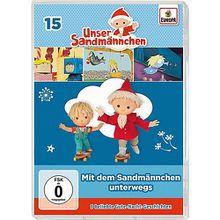 DVD Unser Sandmännchen 15 - Mit dem Sandmännchen unterwegs Hörbuch