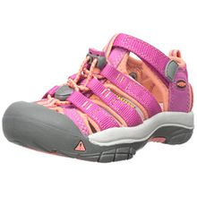 Keen Unisex Baby Newport H2 Lauflernschuhe, Pink (Very Berry/Fusion Coral), 23 EU
