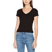 G-STAR RAW Damen T-Shirt Base V T Wmn Cap SL, Grau (Black 990), XX-Large