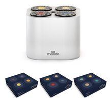 MOODO Smart Duftspender »MOD-BNDL-0015 Starter Pack mit Akku weiß«