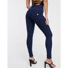 Freddy WR.UP - Push-up-Jeans mit 4 Knöpfen - Blau
