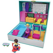 Polly Pocket Pocket World Schulbuch Schatulle