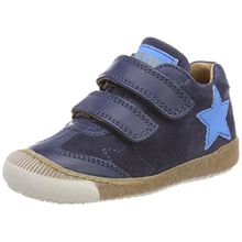 Bisgaard Unisex-Kinder Klettschuhe Sneaker, Blau (Navy), 28 EU