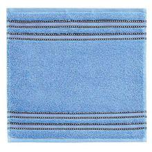 Vossen 1153240441 Cult de Luxe Waschlappen/Seiftuch, 30 x 30 cm, stahl blau