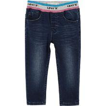 Levis dunkle Jeans mit elastischem Bündchen