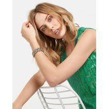 TAIFUN Schmuck Elastisches Armband gold / grün