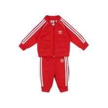 ADIDAS ORIGINALS Jogginganzug rot / weiß