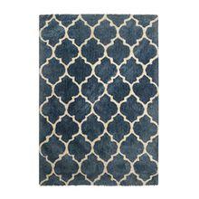 Kayoom Teppich, Baumwolle, Blau, 120x 19x 19cm