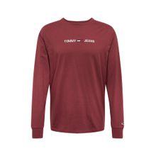 Tommy Jeans Shirt burgunder / weiß