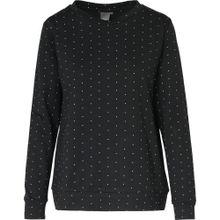 ICHI Pullover schwarz