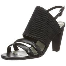 GERRY WEBER Shoes Damen Saskia 05 Sandalen, Schwarz (Schwarz), 38 EU