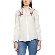 Desigual Damen Hemden Cam_Martina, Weiß (Blanco 1000), Gr. XXS (Herstellergröße:XS)