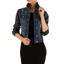 Used Look Jeans Jacke Für Damen , Blau In Gr. M bei Ital-Design