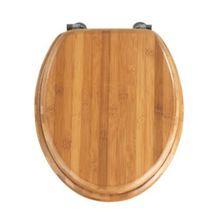 WENKO WC-Sitz Bambus Dunkel braun