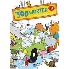 Buch - 300 Wörter suchen und ausmalen (Autowaschen)