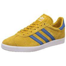 Adidas Sneaker GAZELLE BB5257 Grau Rot, Gelb, 40 2/3 EU