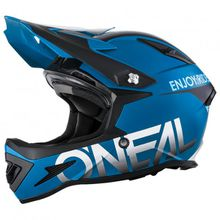 O'Neal - Warp Fidlock Helmet - Radhelm Gr XL blau/schwarz