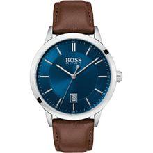 BOSS Boss Herren-Uhren Analog Quarz ' ' blau / braun