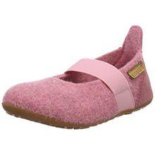 Bisgaard Mädchen Wool Ballet Slipper, Pink (91 Rosa), 29 EU