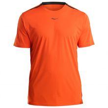 Saucony - UV Lite Short Sleeve - Laufshirt Gr L;M;S;XL;XXL blau;orange/rot