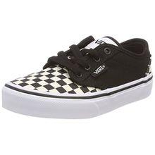 Vans Unisex-Kinder Atwood Sneaker, Schwarz (Checkerboard), 38 EU