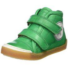 Bisgaard Unisex-Kinder Klettschuhe Hohe Sneaker, Grün (Green), 34 EU