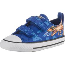 CONVERSE Sneakers 'Ctas 2V OX' blau / mischfarben / weiß