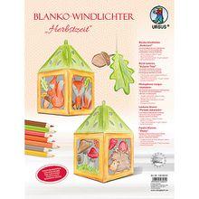 """Blanko-Windlichter """"Herbstzeit"""""""