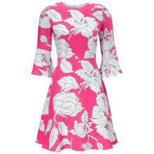 Heine Kleid pink / weiß