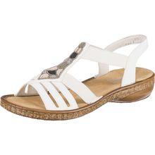 rieker Klassische Sandalen weiß Damen
