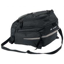 Vaude - Silkroad Plus - Gepäckträgertasche Gr 9+7 l schwarz;schwarz/grau