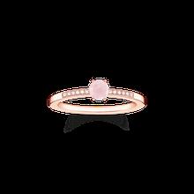 "Thomas Sabo Ring ""Rosa Stein"" dunkelgrün D_TR0010-925-9-48"