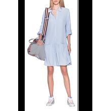 Dress Push Buttons Light Blue