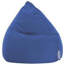 Carryhome SITZSACK Mikrofaser Blau